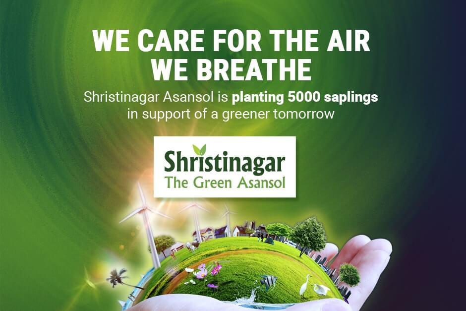 Tree Plantation for a Greener Asansol - Bengal Shristi