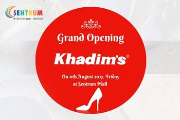 Opening of Khadim Showroom at Sentrum