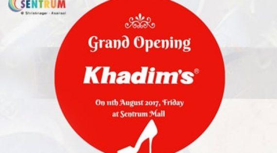 Opening of Khadim Showroom at Sentrum