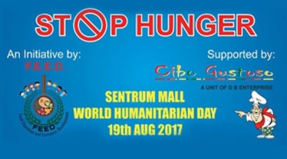 Stop Hunger on World Humanitarian Day