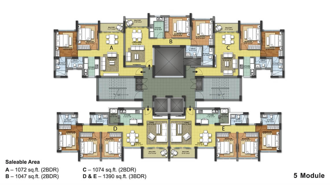 shristinagar asansol tarang floor plan