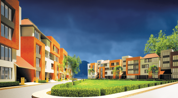 Beautiful residential properties in the city of Asansol